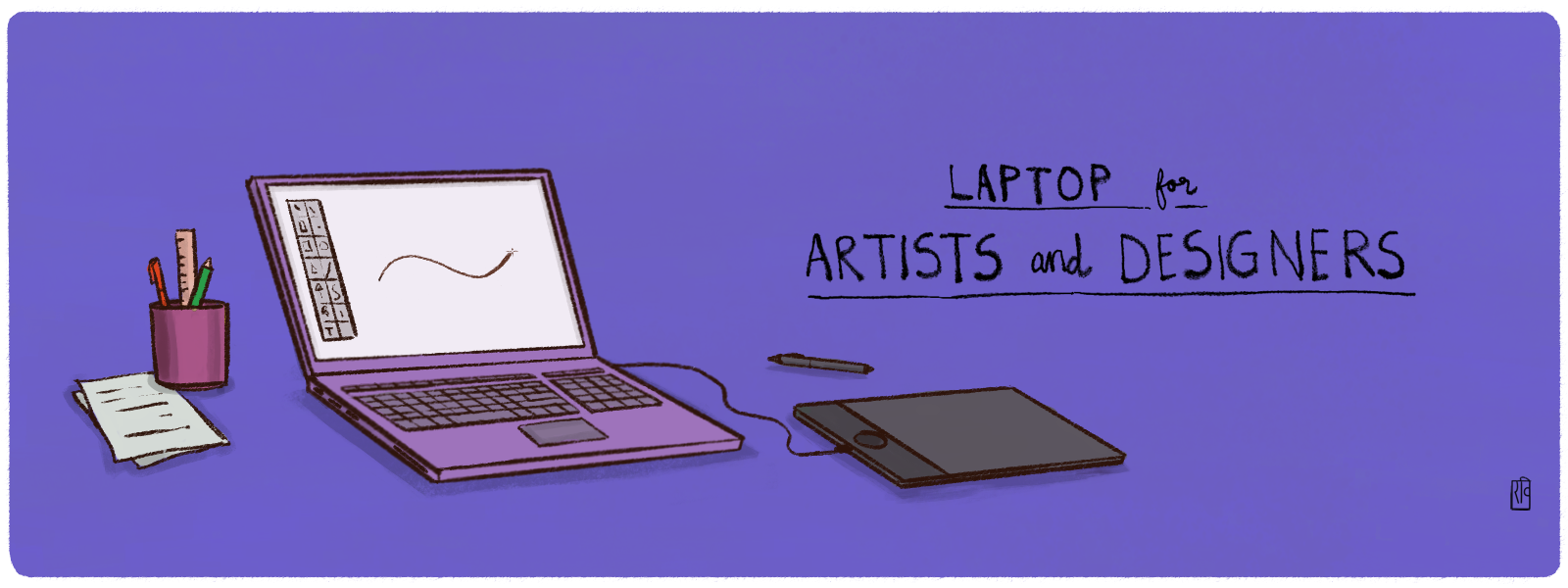 Choosing a Laptop for Artists and Designers.
